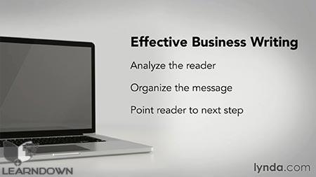 دانلود آموزش مبانی نوشتن در تجارت - Business Writing Principles 3