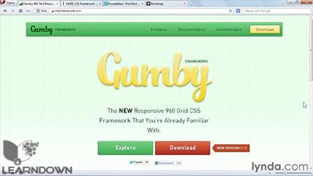 دانلود آموزش سی اس اس : فریمورک و گرید - CSS: Frameworks & Grids 2