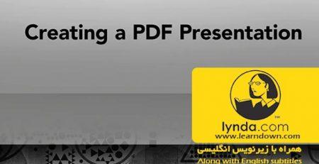 دانلود آموزش ساخت PDF ارائه - Creating a PDF Presentation