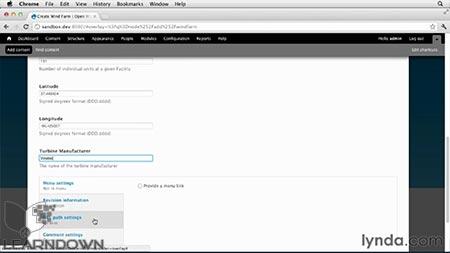 دانلود آموزش دروپال 7 : سفارشی سازی ماژول - Drupal 7: Custom Module Development 3