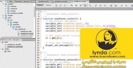 دانلود آموزش دروپال 7 : سفارشی سازی ماژول - Drupal 7: Custom Module Development