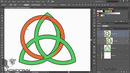 دانلود آموزش ایلستریتور قدم به قدم : حرفه ی - Illustrator CC 2014 One-on-One: Advanced 3