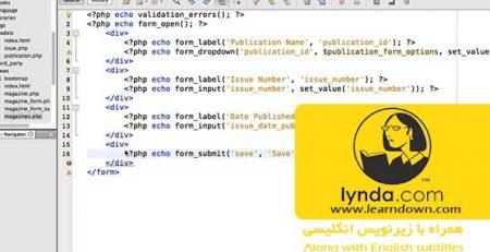 دانلود آموزش پی اچ پی کدایگنایتر - Learning PHP CodeIgniter 2013
