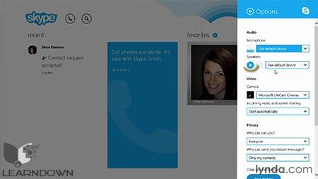 دانلود آموزش اسکایپ برای ویندوز - Learning Skype for Windows