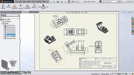 دانلود آموزش سالیدورک 2015 – ابزار رسم - Learning SolidWorks 2015 - Drawing Tools 3