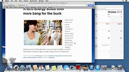 دانلود آموزش مکینتاچ ماوریکس - Mac OS X Mavericks Essential Training 2