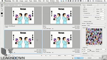 دانلود آموزش فتوشاپ برای وب - Photoshop For The Web 3
