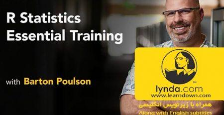 دانلود آموزش زبان آمار محاسباتی آر - R Statistics Essential Training