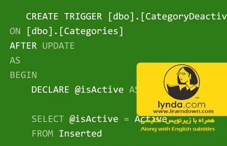 دانلود آموزش اس کیو ال سرور ، استور پروسیجر، تریگرها و توابع - SQL Server Triggers Stored Procedures and Functions