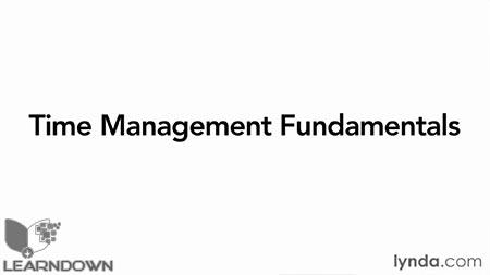 دانلود آموزش مبانی مدیریت زمان -Time Management Fundamentals 3