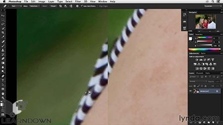 دانلود آموزش انتقال نقاشی دیجیتال به فتوشاپ - Transforming a Portrait Into a Painting in Photoshop 2