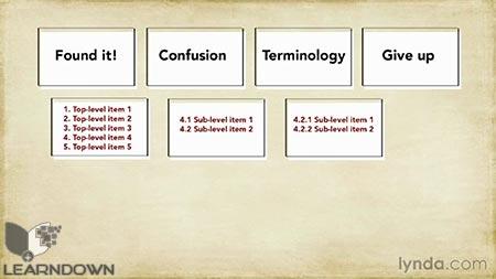 دانلود آموزش مبانی یو ایکس : معماری اطلاعات - UX Foundations: Information architecture 3