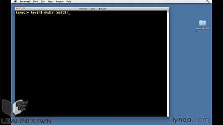 دانلود آموزش یونیکس برای کاربران مک او اس ایکس -Unix for Mac OS X Users 2