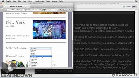 دانلود آموزش سی اس اس : طرحبندی صفحات- CSS: Page Layouts 3