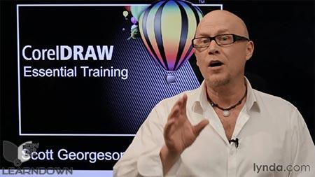 دانلود آموزش کورل دراو - CorelDRAW Essential Training 2