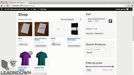 دانلود آموزش فروشگاه اینترنتی به وسیله وردپرس و ووکامرس | Ecommerce with WordPress and WooCommerce 3