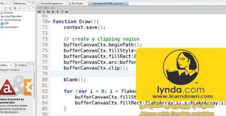 دانلود آموزش اچ تی ام ال 5 : گرافیک و انیمیشن با کانواس - HTML5: Graphics and Animation with Canvas