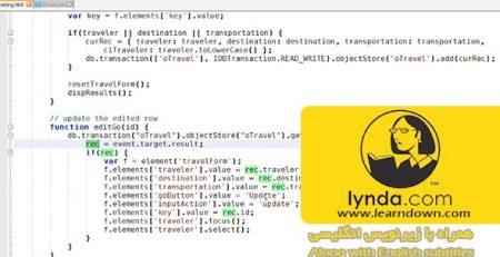 دانلود آموزش اچ تی ام ال 5 : حافظه محلی و آپلیکیشن آفلاین - HTML5 Local Storage and Offline Applications