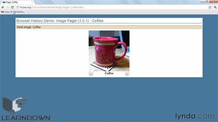 دانلود آموزش اچ تی ام ال 5 : مدیریت تاریخچه بروزر - HTML5: Managing Browser History