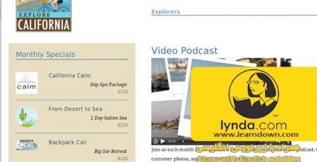دانلود آموزش اچ تی ام ال 5: ویدئو و صدا - HTML5: Video and Audio