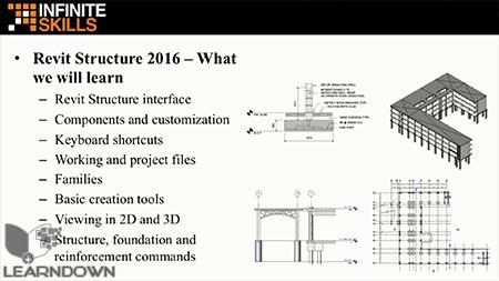 دانلود آموزش اتودسک رویت سازه - Learning Autodesk Revit Structure 2016 2