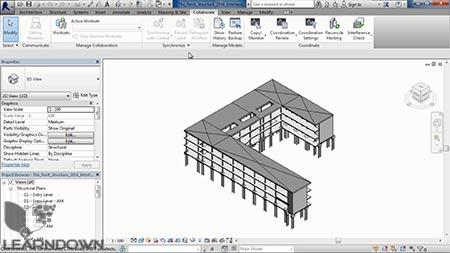 دانلود آموزش اتودسک رویت سازه - Learning Autodesk Revit Structure 2016 3