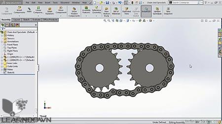 دانلود آموزش سالیدورک - کینماتیک | SolidWorks - Kinematics 3
