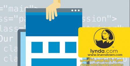 دانلود آموزش طرحبندی بوت استرپ : طراحی تک صفحه ی واکنشگر |Bootstrap Layouts: Responsive Single-Page Design