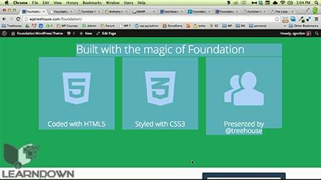 دانلود آموزش ساخت پوسته وردپرس به وسیله فاندیشن 5   Building a WordPress Theme With Foundation 5 3