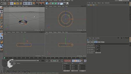 دانلود آموزش سینما فوردی – آموزش سینما فوردی از پایه | Cinema 4D - Learning Cinema 4D from Scratch 2