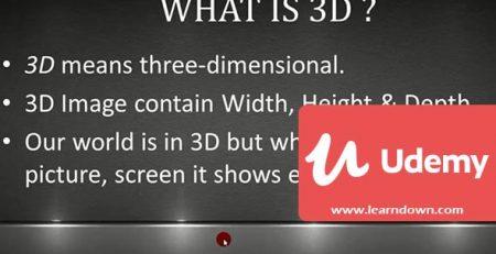 دانلود آموزش سینما فوردی – آموزش سینما فوردی از پایه | Cinema 4D - Learning Cinema 4D from Scratch