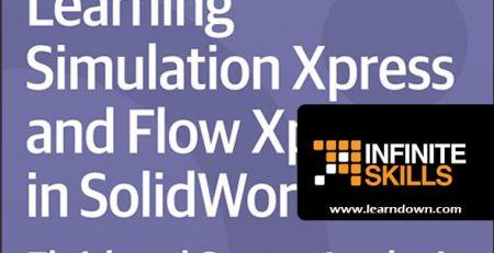 دانلود آموزش شبیه سازی اکسپرس و فلو اکسپرس در سالیدورک | Learning Simulation Xpress and Flow Xpress in SolidWorks