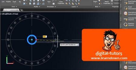 دانلود آموزش استادی در ابزار های Palette در اتوکد | Mastering the Tools Palette in AutoCAD