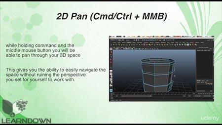 دانلود آموزش مدل سازی اتاق در مایا | Modeling a Room in Maya 2