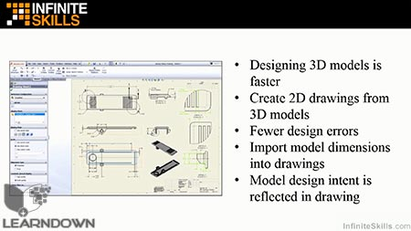 دانلود آموزش سالیدورک - ابزارهای رسم | SolidWorks - Drawing Tools 3