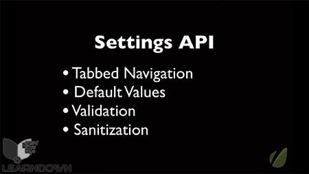 دانلود آموزش استفاده از تنظیمات API وردپرس | Using the WordPress Settings API 2