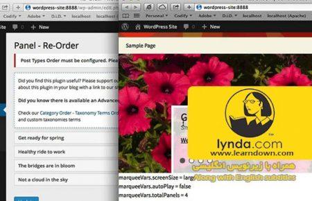 دانلود آموزش ساخت مارکیو در وردپرس به وسیله جی کوئری| Creating a Marquee in WordPress with jQuery