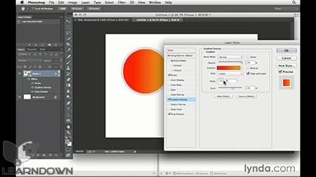 دانلود آموزش طراحی وب : تولید CSS در فتوشاپ | Design the Web: Getting CSS from Photoshop 2