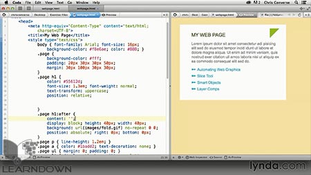 D:\site\learndown\post data\1395\Lynda\Web\Design the Web Graphics and CSS Pseudo-Elements 2