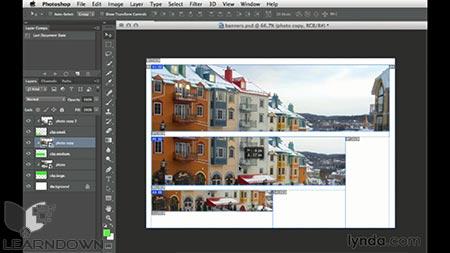 دانلود آموزش طراحی وب : اندازه های گرافیکی متفاوت | Design the Web: Multiple Graphic Sizes 2