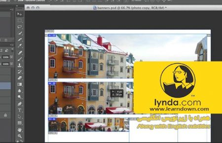 دانلود آموزش طراحی وب : اندازه های گرافیکی متفاوت | Design the Web: Multiple Graphic Sizes