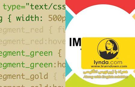 دانلود آموزش طراحی وب : چرخش اس وی جی به وسیله سی اس اس | Design the Web: SVG Rollovers with CSS