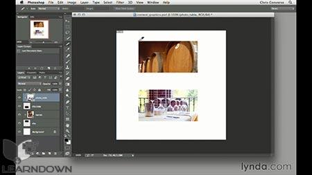 دانلود آموزش طراحی وب : ابزار اسلایس | Design the Web: Slice Tool 2