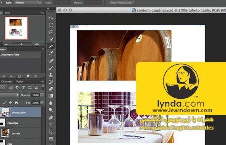 دانلود آموزش طراحی وب : ابزار اسلایس | Design the Web: Slice Tool
