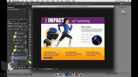 دانلود آموزش طراحی وب: اسمارت آبجکت | Design the Web: Smart Objects 2
