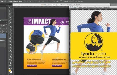 دانلود آموزش طراحی وب: اسمارت آبجکت | Design the Web: Smart Objects