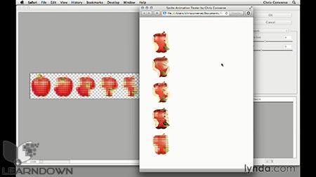 دانلود آموزش طراحی وب: اسپریت شیت | Design the Web: Sprite Sheets 3