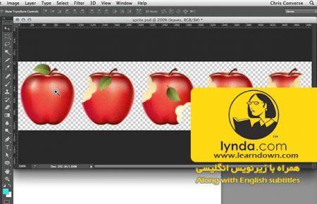 دانلود آموزش طراحی وب: اسپریت شیت | Design the Web: Sprite Sheets