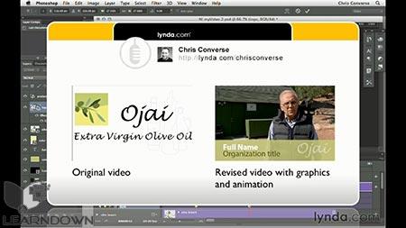 دانلود آموزش طراحی وب : ویدئو گرافیک و انیمیشن| Design the Web: Video Graphics and Animation 3