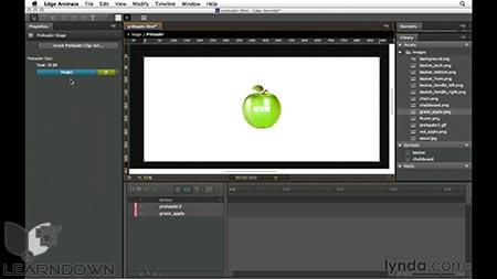 دانلود آموزش ادج انیمیشن| Edge Animate Essential Training 3